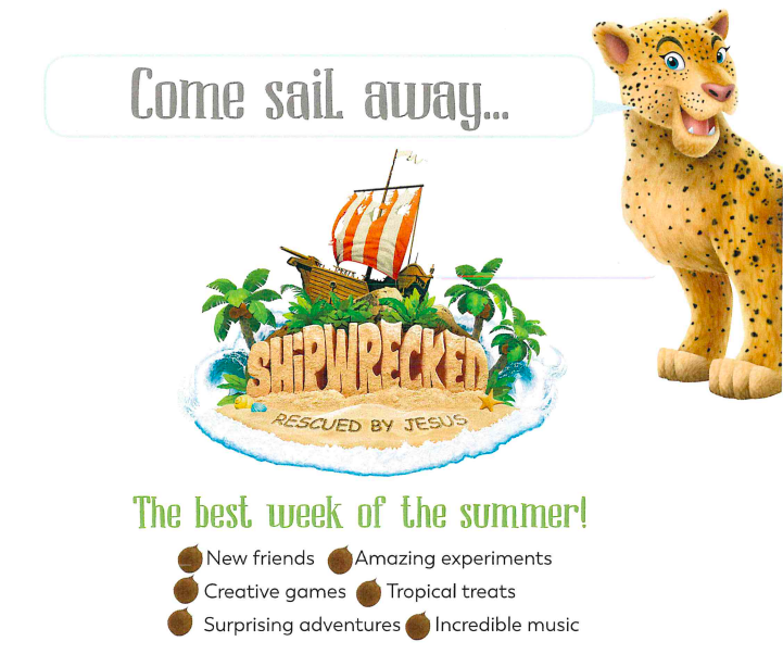 Vacation Bible School - Ship Wrecked