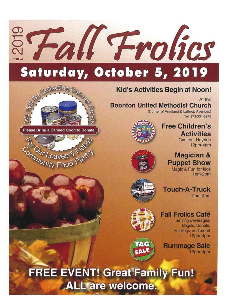 Fall Frolic Flyer