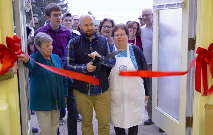 Opening of Loaves and Fishes Community Food Pantry
